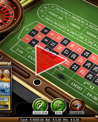 Gratis roulette europees spelen